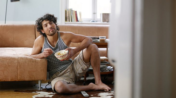 1-man-couch-cereal-apartment-lifetime